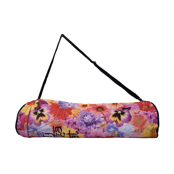 Garden Flowers Yoga Mat Bag
