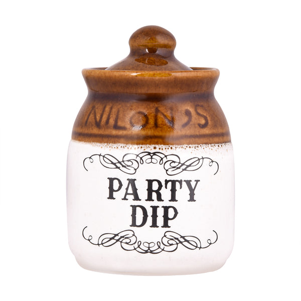 Party Dip Ceramic Jar