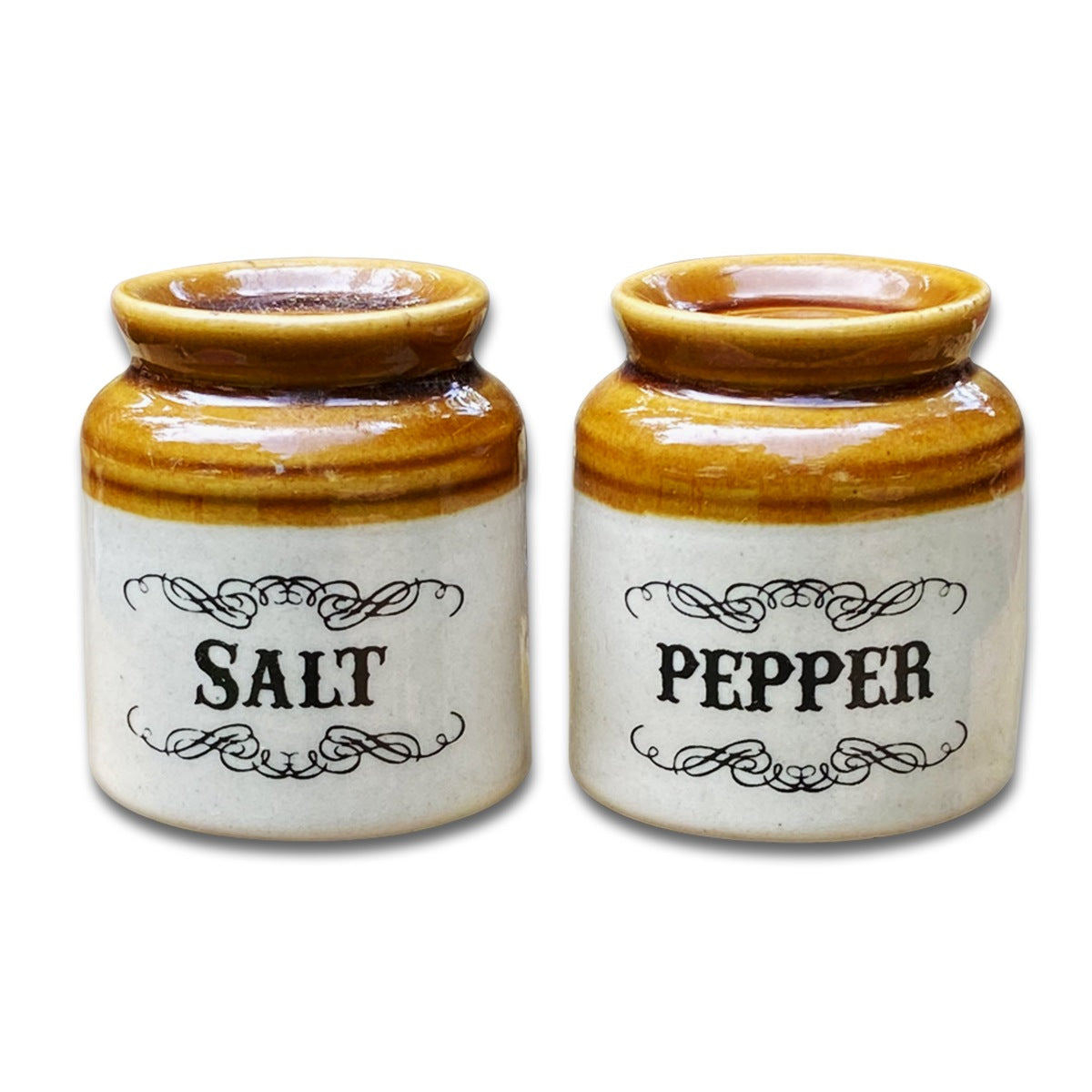 Salt N Pepper Ceramic Shaker Set