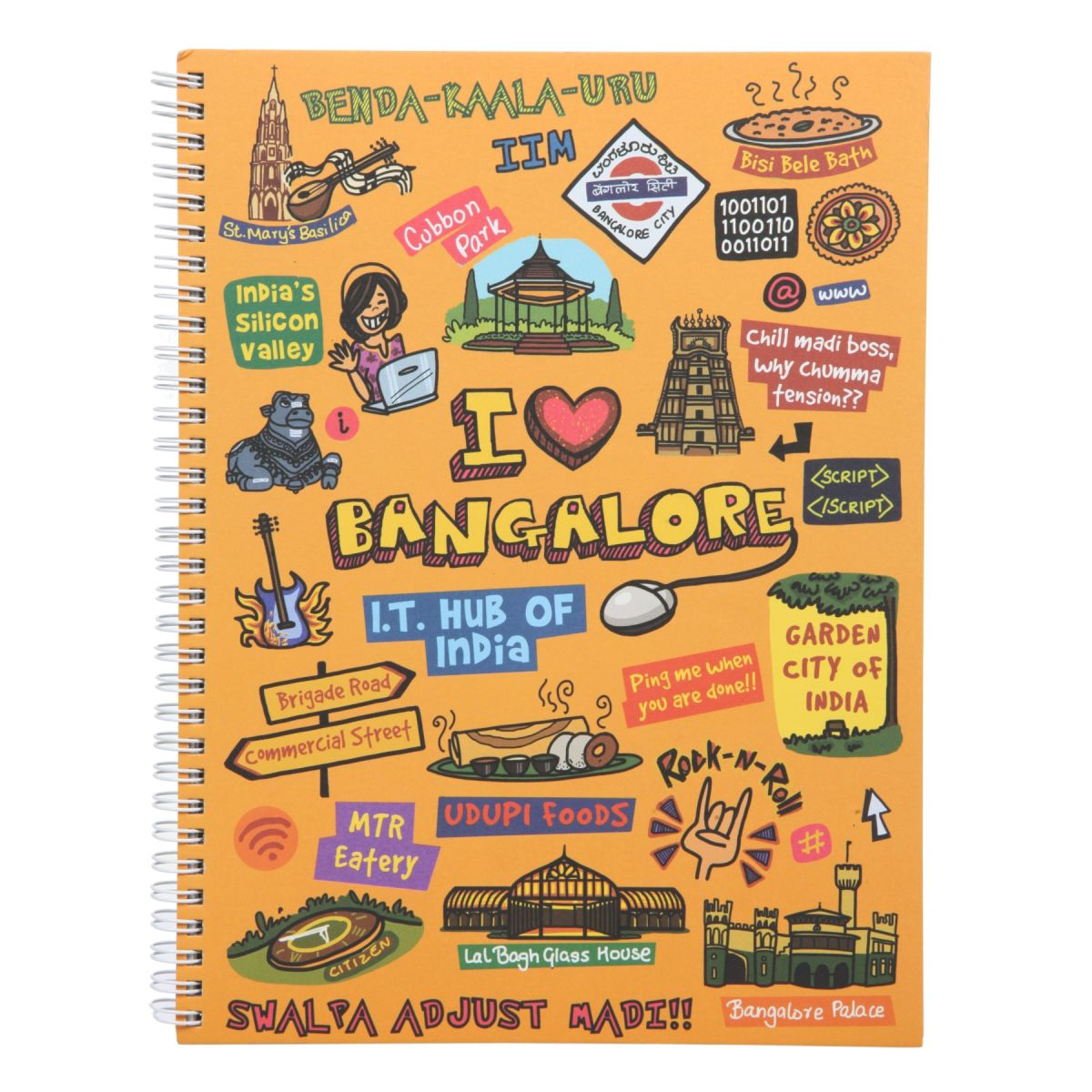 Bangalore Ruled Exercise Book