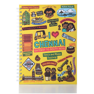 Chennai Ruled Exercise Book