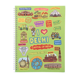Delhi Ruled Exercise Book
