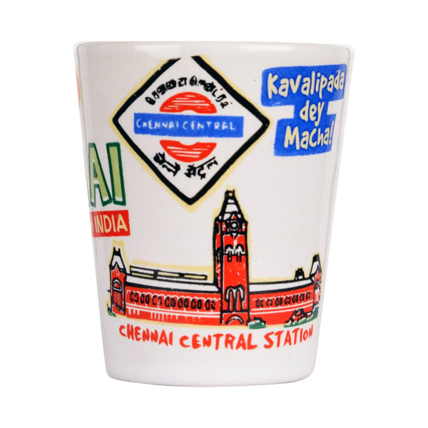 Chennai Ceramic Shot Glass