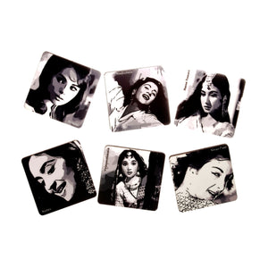 Bollywood Divas Coaster set