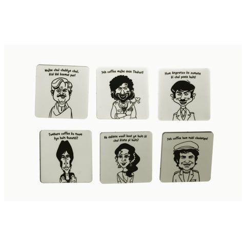 Sholay Tribute Coasters