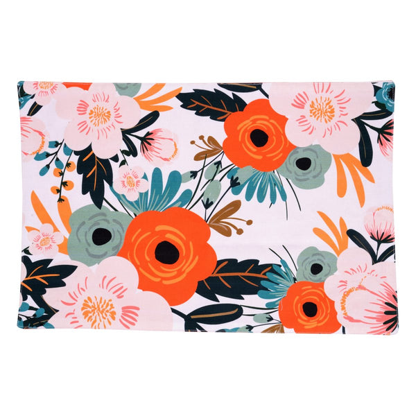 English Flower Table Mat Set of 6