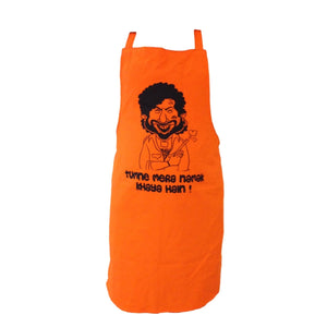 Gabbar Tribute Kitchen Apron