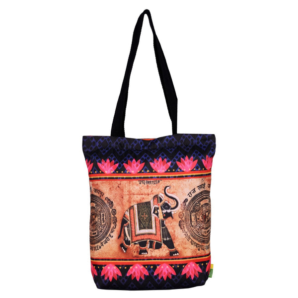 Indian Elephant RPET Tote Bag