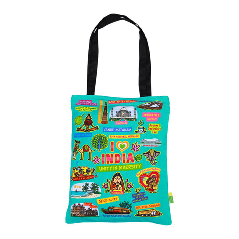 Small Coloured India Bag