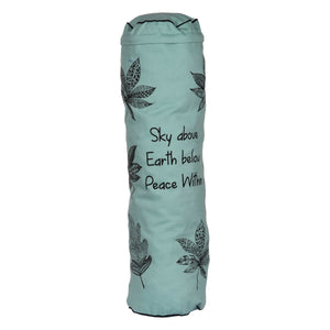 Three Leaves Yoga Mat Bag