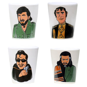 Villian Shot Glasses Set of 4