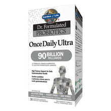 Load image into Gallery viewer, Garden Of Life Probiotic Daily 90 Billion 30 Vegetarian Capsules