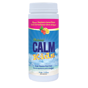 Natural Calm Kids Calm Raspberry Lemon 113 grams