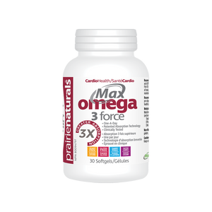 Preferred Nutrition Max Omega-3 Force 30 Softgels