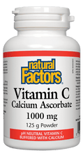 Load image into Gallery viewer, NF Vitamin C Ascorbate 1000mg 125g