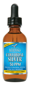 Silver Wings Colloidal Silver 50ppm 59mL