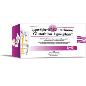 LivOn Labs Lypo-Spheric Glutathione 30 Packets