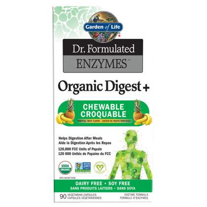 Garden Of Life Dr. Formulated Organic Digest 90chews
