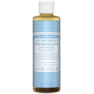 DrB Unscented Castille Soap 237ml