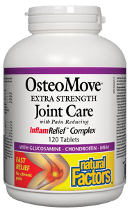 Natural Factors OsteoMove Extra Strength Joint Care 120 Tablets