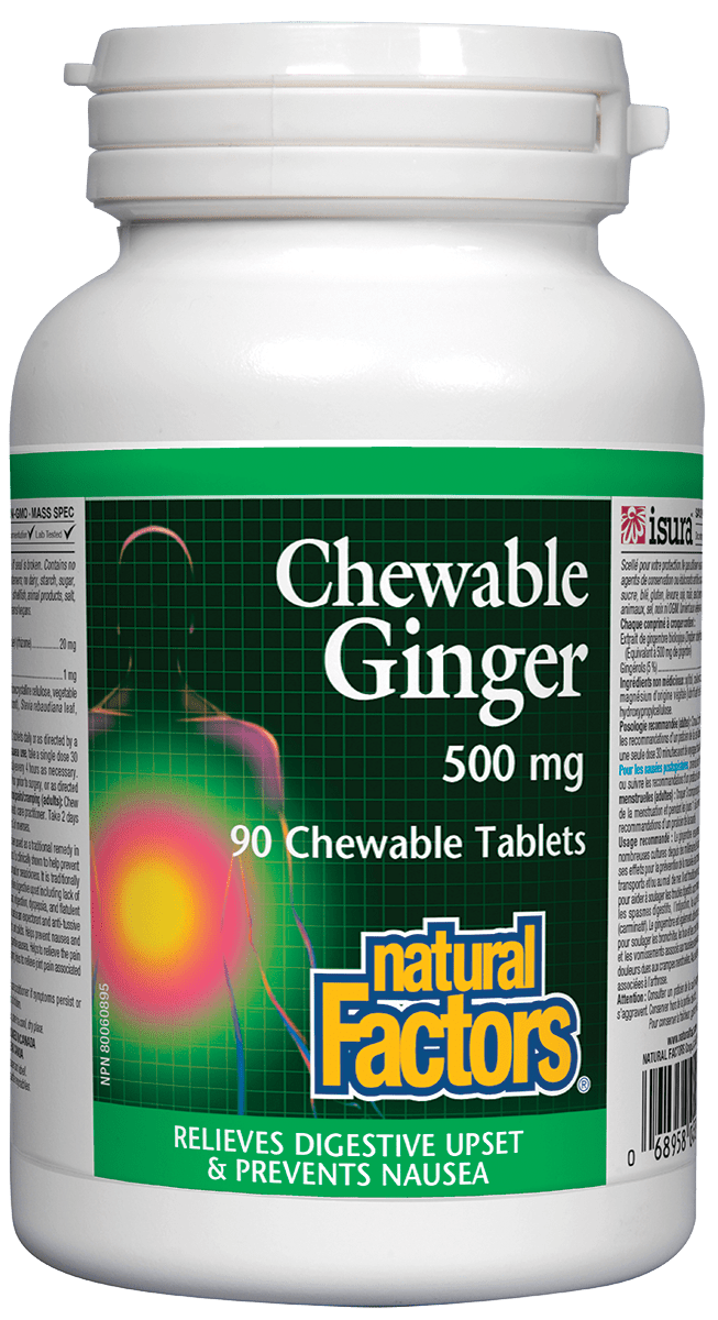 NF Ginger 500mg 90chews