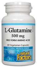 Load image into Gallery viewer, NF L-Glutamine 500mg 60Vcaps