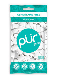 Pur Wintergreen Gum 55pc
