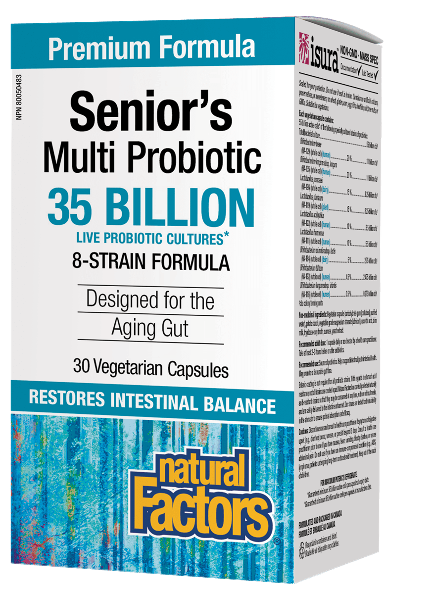 NF Seniors Multi Probiotic 30vcap