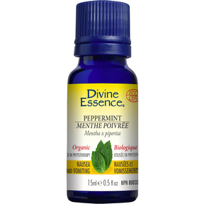 Divine Essence Organic Peppermint Essential Oil 15ml