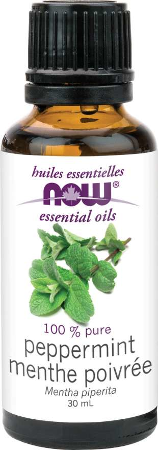 NOW Peppermint Essential Oil 30ml
