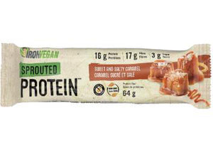Iron Vegan Bar Sweet & Salty Caramel 64g