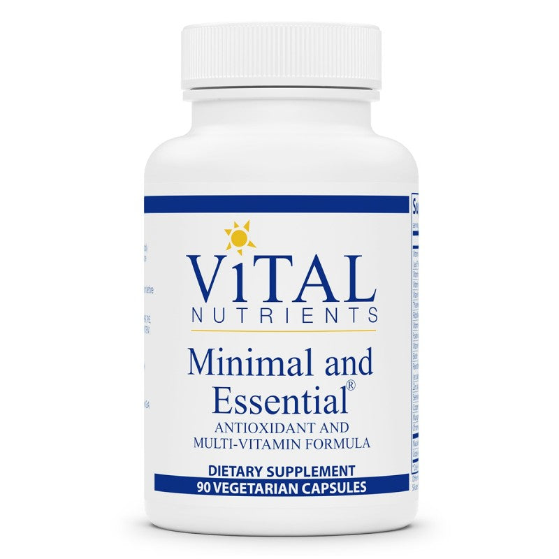 Vital Nutrients Minimal and Essential 90caps