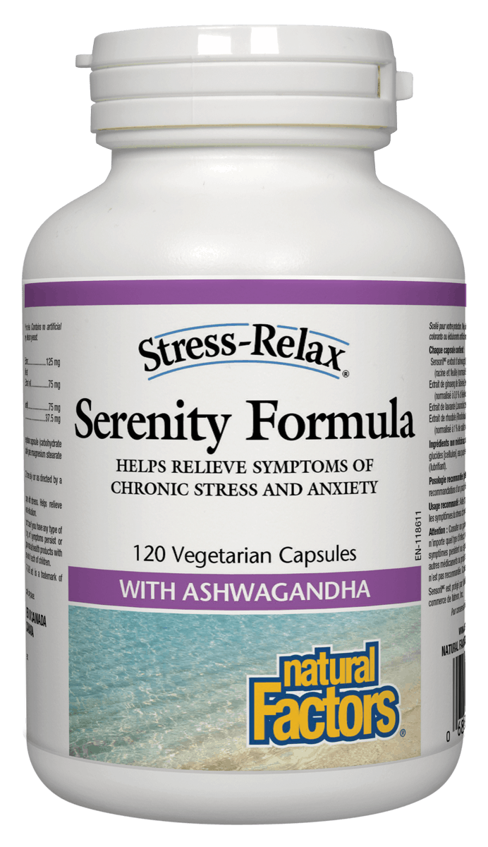 Natural Factors Serenity Formula 120 Vegetable Capsules