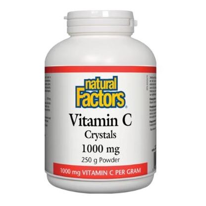Natural Factors Vitamin C 1000mg Crystals 250g