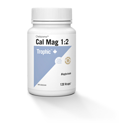 Trophic Cal-Mag 1:2 120 Vegetable Capsules