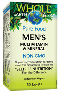 Whole Earth And Sea Men's Multivitamin 60 Tablets