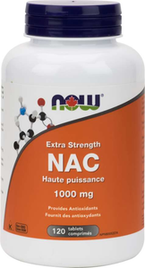 NOW NAC 1000mg 120 Tablets
