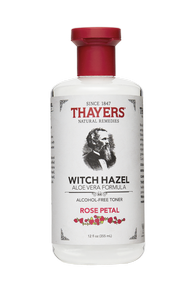 Thayers Witch Hazel Rose Petal 355ml