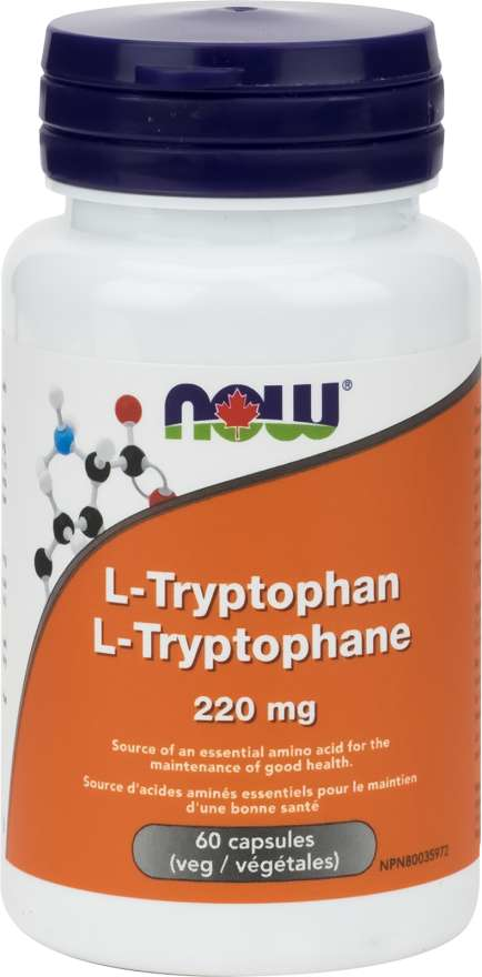 NOW L-Tryptophan 220mg  60vcap