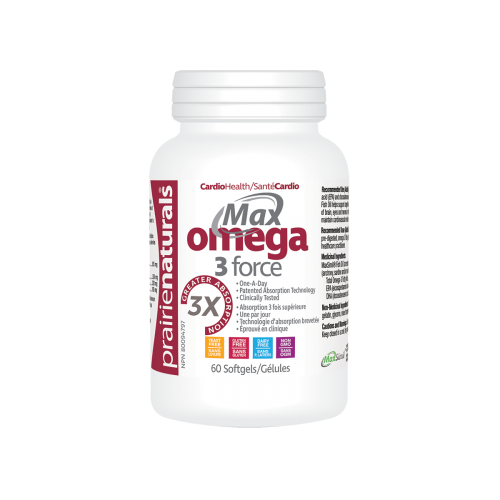 Preferred Nutrition Max Omega-3 Force 60 Softgels