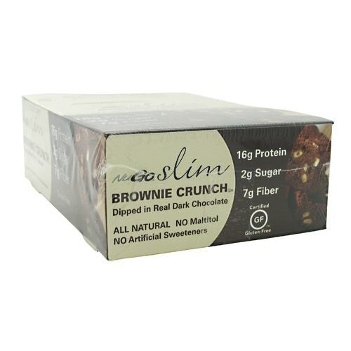NuGO Brownie Crunch 45g x 12 CS