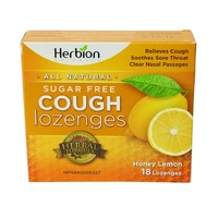 Herbion Honey Lemon Lozenges 18pc