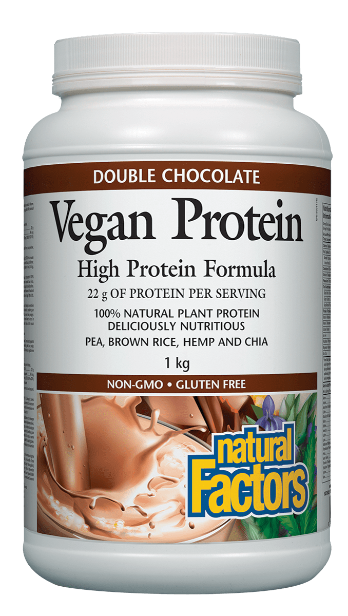 NF Vegan Prot Pwd Double Choc 1kg