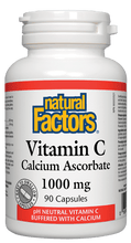 Load image into Gallery viewer, NF Vit C Ascorbate 1000mg 90cap