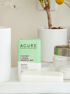 Acure Coconut & Argan Shampoo Bar 140g