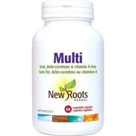 New Roots Multi Vitamin 60 Vegetable Capsules