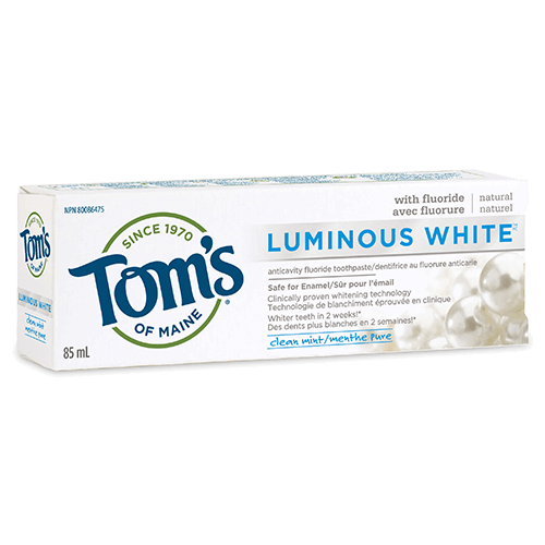 Tom's Luminous White Toothpaste 85mg