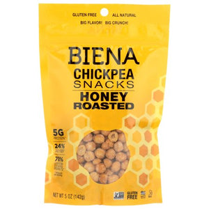Biena Honey Roasted Chickpeas 142g