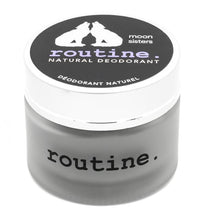 Load image into Gallery viewer, Routine Moon Sisters Activated Charcoal Magnesium and Prebiotics Natural Deodorant 58g