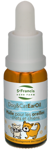 St. Francis Dog and Cat Ear Oil 15mL